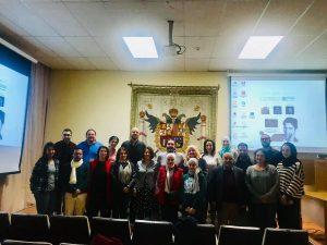 Grupo de participantes en las jornadas de formación y networking del proyecto PEACE